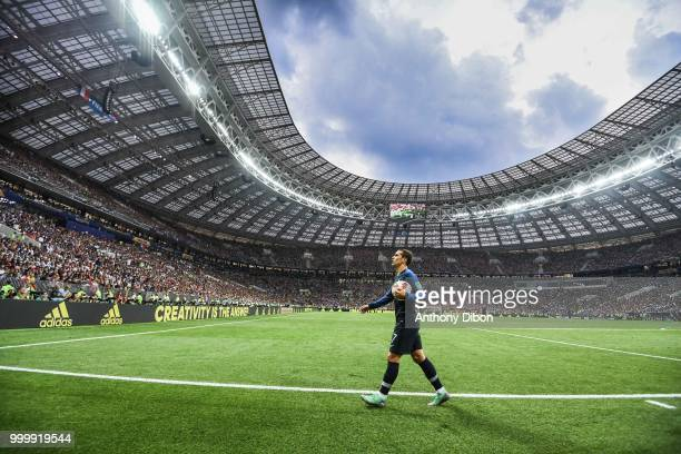 Antoine Griezmann of France during the World Cup Final match between France and Croatia at Luzhniki Stadium on July 15 2018 in Moscow Russia