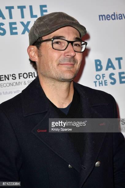 Antoine Jezel attends the 'The Battle Of The Sexes' Paris Premiere at Publicis Champs Elysees on November 14 2017 in Paris France