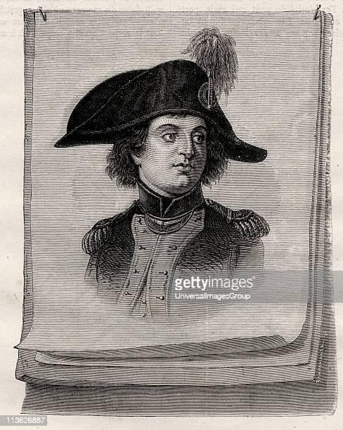 Antoine Joseph Santerre 17521809 French revolutionary from Histoire de la Revolution Francaise by Louis Blanc