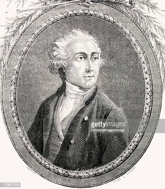 Antoine Laurent Lavoisier 17431794 French chemist Engraved by PannemakerLigny after De La Charlerie From 'Histoire de la Revolution Francaise' by...