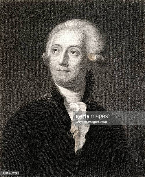 Antoine Laurent Lavoisier 17431794 French chemist From the book 'Gallery of Portraits' published London 1833