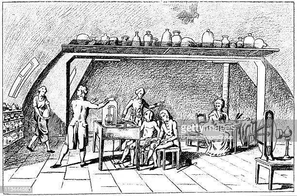 Antoine Laurent Lavoisier French chemist discovered oxygen Lavoisier investigating respiration He discovered the interchange of gases in the lungs...