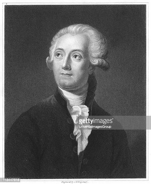 Antoine Laurent Lavoisier French chemist From The Gallery of Portraits VolV Charles Knight London 1835