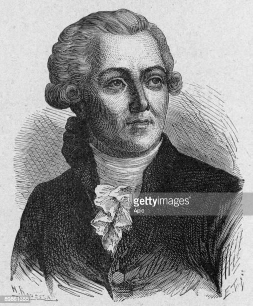 Antoine Laurent Lavoisier French chemist philosopher economist engraving