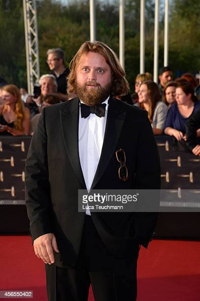 Antoine Monot jr attend the red carpet of the Deutscher Fernsehpreis 2014 at Coloneum on October 2 2014 in Cologne Germany