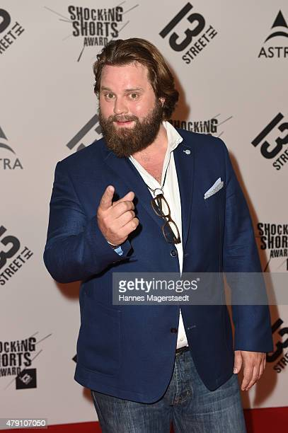 Antoine Monot jr attends the Shocking Shorts Award 2015 during the Munich Film Festival on June 30 2015 in Munich Germany