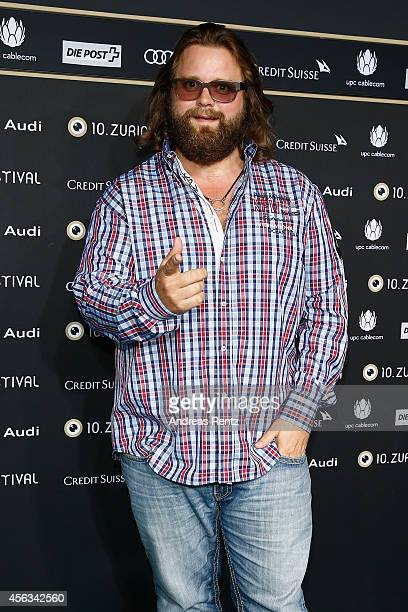 Antoine Monot Jr attends the 'Who am I' Green Carpet Arrivals during Day 5 of Zurich Film Festival 2014 on September 29 2014 in Zurich Switzerland