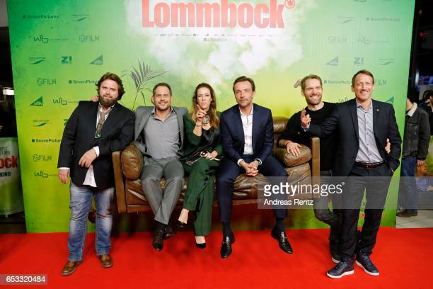 Antoine Monot Jr., Moritz Bleibtreu, Alexandra Neldel, Lucas Gregorowicz, Director and screenwriter Christian Zuebert and Wotan Wilke Moehring attend...