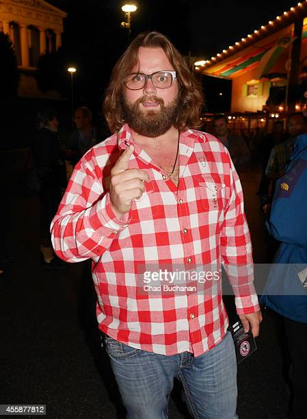 Antoine Monot Jr sighted during Oktoberfest at Theresienwiese on September 21 2014 in Munich Germany