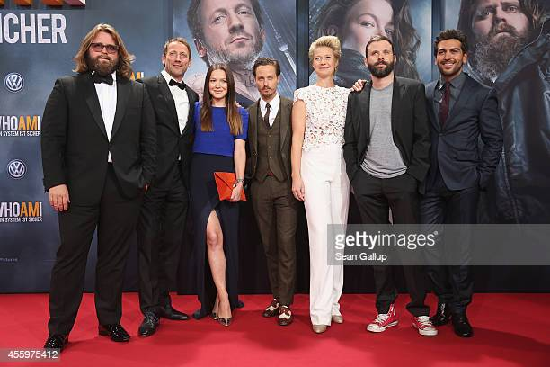 Antoine Monot Jr Wotan Wilke Moehring Hannah Herzsprung Tom Schilling Trine Dyrholm Baran bo Odar and Elyas M'Barek attend the premiere of the film...