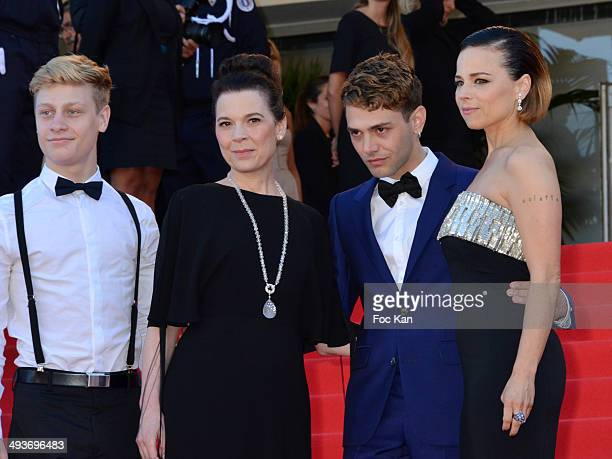 Antoine Olivier Pilon Anne Dorval Xavier Dolan and Suzanne Clement attend the Closing Ceremony and 'A Fistful of Dollars' Screening during the 67th...