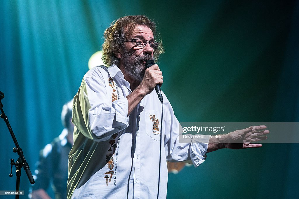 Antoine performs at L'Olympia on November 14, 2012 in Paris, France.