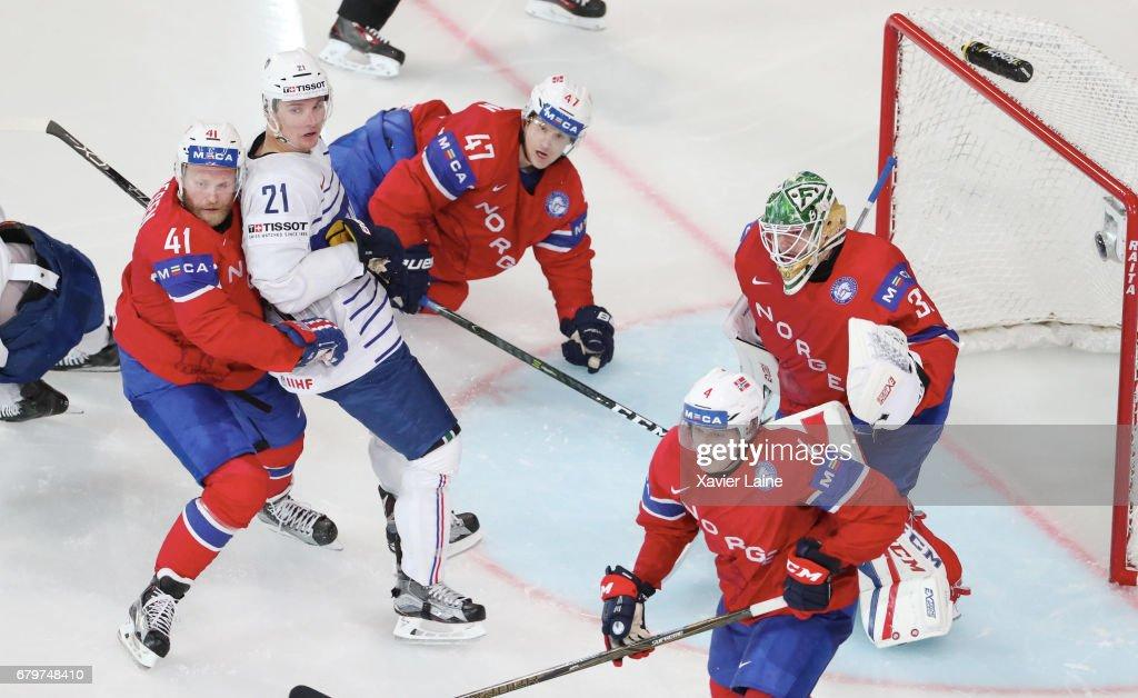 Norway v France - 2017 IIHF Ice Hockey World Championship