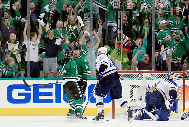 St Louis Blues v Dallas Stars - Game One