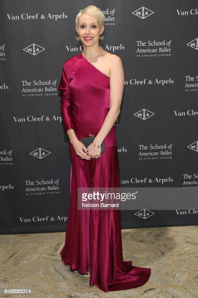Antoine Schetritt attends The School Of American Ballet's 2017 Winter Ball at David H Koch Theater at Lincoln Center on March 6 2017 in New York City