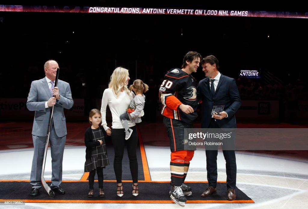 Vegas Golden Knights v Anaheim Ducks : News Photo