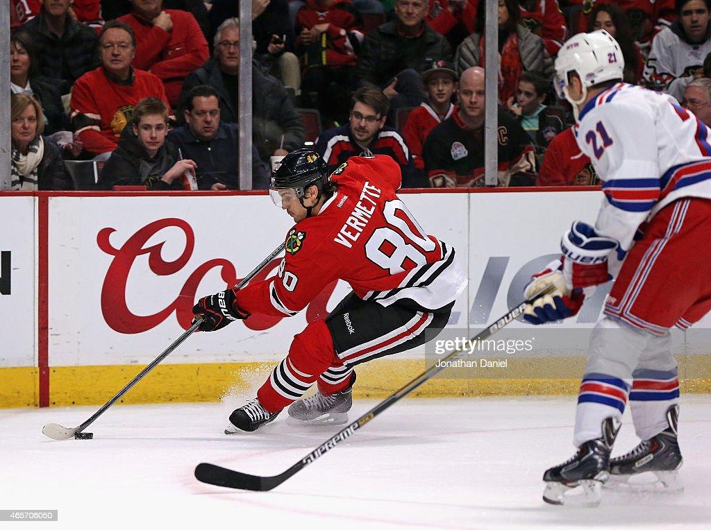 New York Rangers v Chicago Blackhawks : News Photo