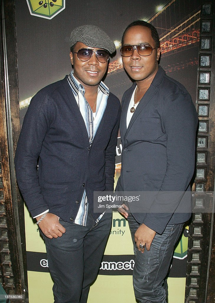 Antoine Von Boozier and Andre Von Boozier attend Noami Defensor's 24th birthday party at Taj II on January 21, 2012 in New York City.