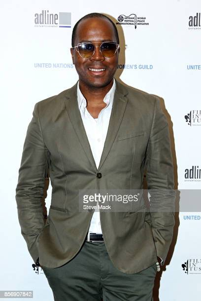 Antoine Von Boozier in attendance at Ahimsa The Power of His Message UN Women's Guild Luncheon honoring ENGIE CEO Madame Isabelle Kocher at United...