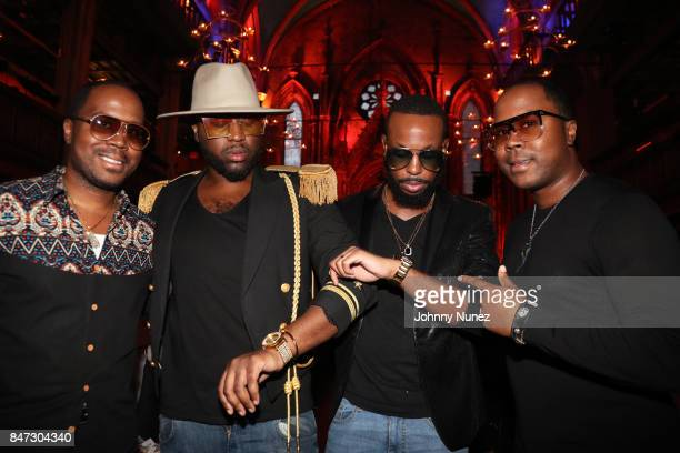 Antoine Von Boozier Kidear Youmans Kareem and Andre Von Boozier attend The Dream Fall 2017 Benefit Fashion Show at The Angel Orensanz Foundation on...