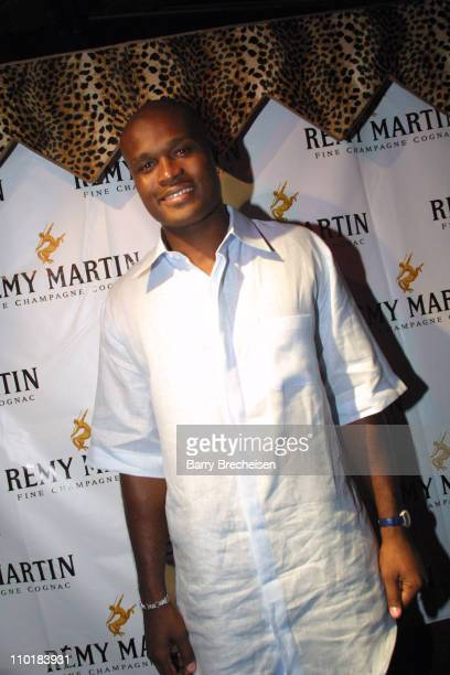 Antoine Walker at the VIP fundraising event sponsored by Remy Martin and The Support Group