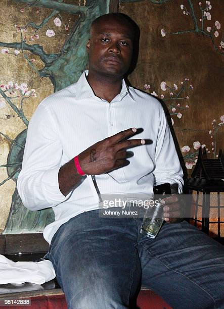 Antoine Walker attends Fabolous' Loso's Way Album Release Party at the Hiro Ballroom at The Maritime Hotel on July 29 2009 in New York City