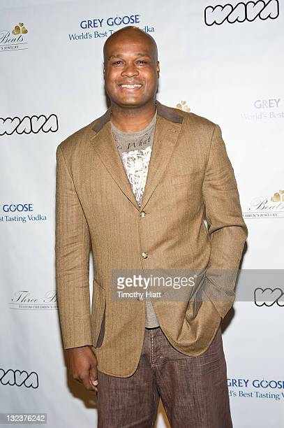 Antoine Walker attends the 3 Beats launch party at the W Hotel Chicago on November 11 2011 in Chicago Illinois
