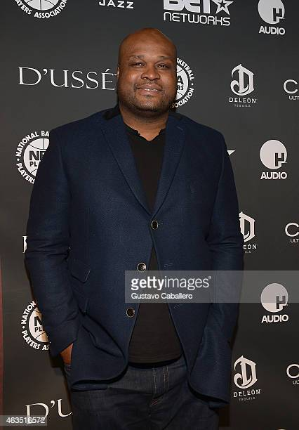 Antoine Walker attends the NBPA AllStar Players Social at Capitale on February 14 2015 in New York City