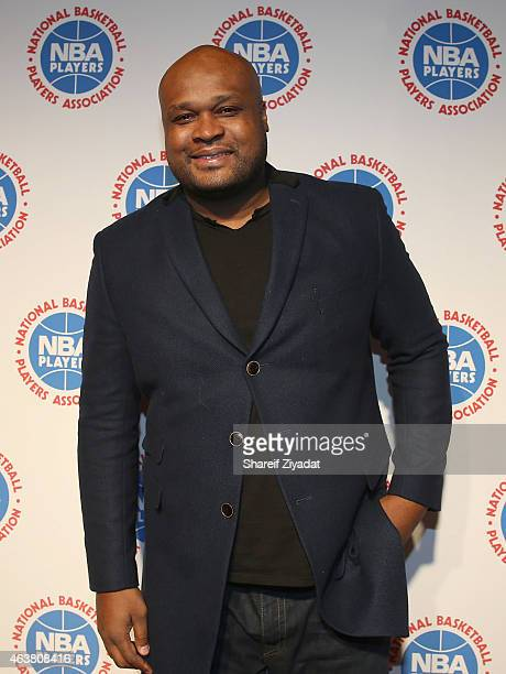 Antoine Walker attends the NBPA Gala at Cipriani Downtown during NBA AllStar Weekend on February 14 2015 in New York New York