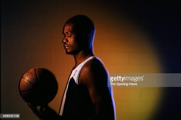 Antoine Walker of the Boston Celtics poses for a photo on December 1 1997 in Boston Massachussettes