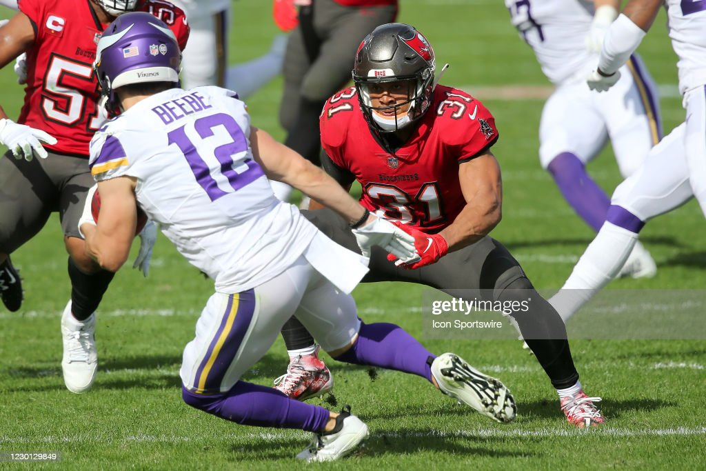 NFL: DEC 13 Vikings at Buccaneers : News Photo