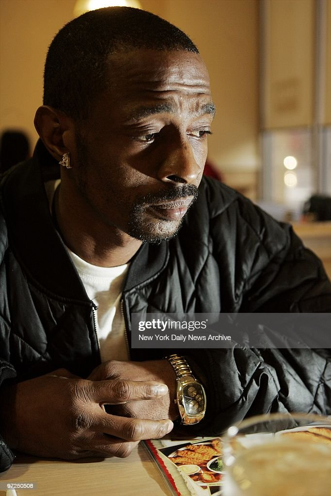 Antoine Yates Sits In The International House Of Pancakes Harlem After His Release From Prison