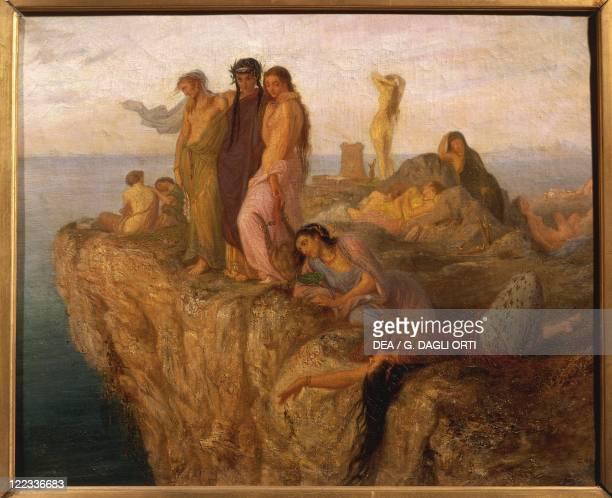 AntoineChristian Zacharie called Tony Zac Female Companions of Sappho ca 1868