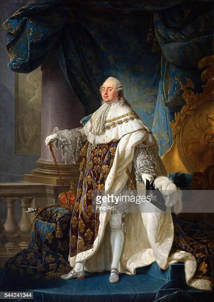 Antoine-Francois Callet , painted 1789. Oil on canvas, 278 x 196 cm . Musee de l'Histoire de France, Versailles, France.