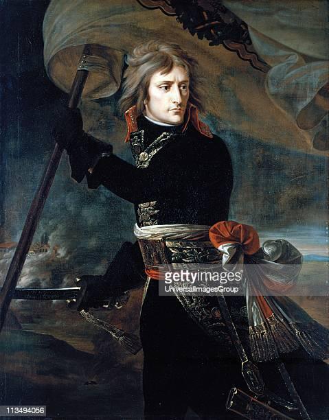 AntoineJean Gros Napoleon Bonaparte on the Bridge at Arcole