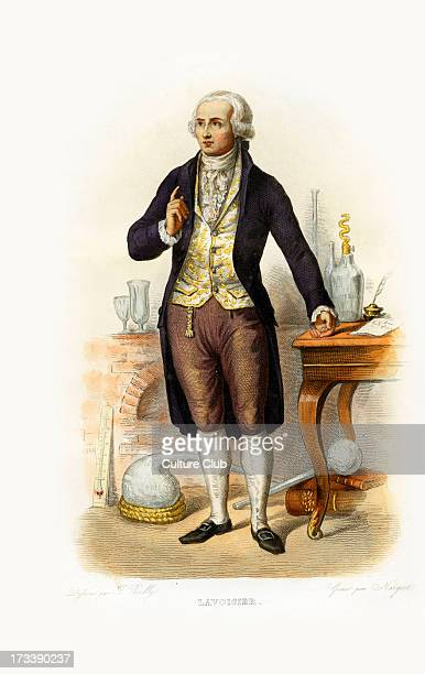 AntoineLaurent de Lavoisier French nobleman prominent in chemistry and biology he found and named oxygen and hydrogen helped construct the metric...