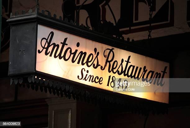 Antoine's Restaurant is one of the legendary restaurants in the French Quarter of New Orleans Antoine's Restaurant has become the longest...