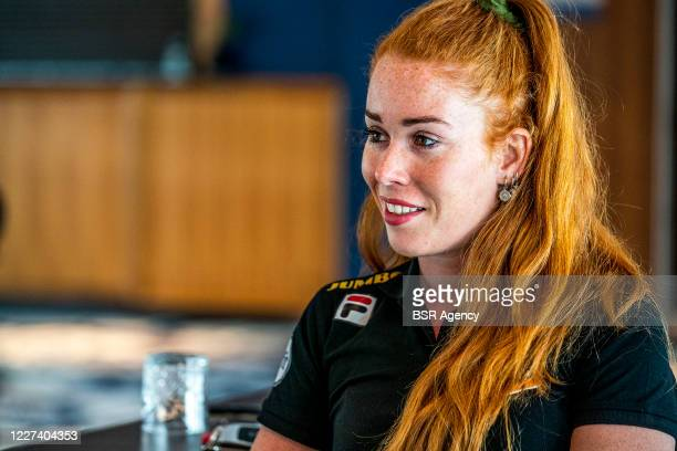 Antoinette de Jong of Jumbo Visma seen during a meeting with the press on May 27 2020 in Wolvega The Netherlands
