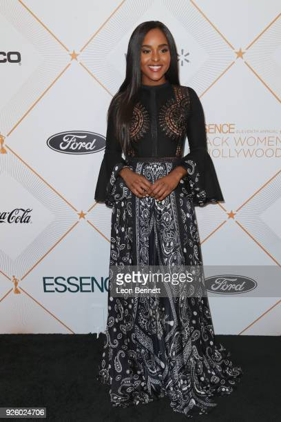 Antoinette Robertson attends the 2018 Essence Black Women In Hollywood Oscars Luncheon at Regent Beverly Wilshire Hotel on March 1, 2018 in Beverly...