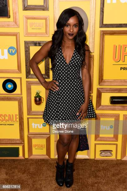 Antoinette Robertson attends the Premiere of TruTV's 'Upscale with Prentice Penny' at The London Hotel on March 21 2017 in West Hollywood California