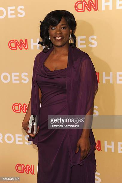 Antoinette Tuff attends 2013 CNN Heroes: An All Star Tribute at the American Museum of Natural History on November 19, 2013 in New York City....