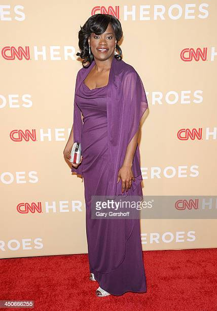 Antoinette Tuff attends the 2013 CNN Heroes: An All Star Tribute at The American Museum of Natural History on November 19, 2013 in New York City.