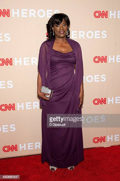 Antoinette Tuff attends the 2013 CNN Heroes at the American Museum of Natural History on November 19, 2013 in New York City.