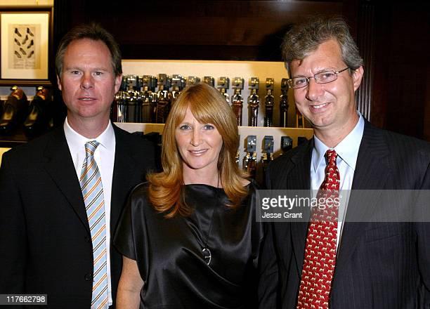 Anton and Jennifer Segerstrom with Claudio Del Vecchio