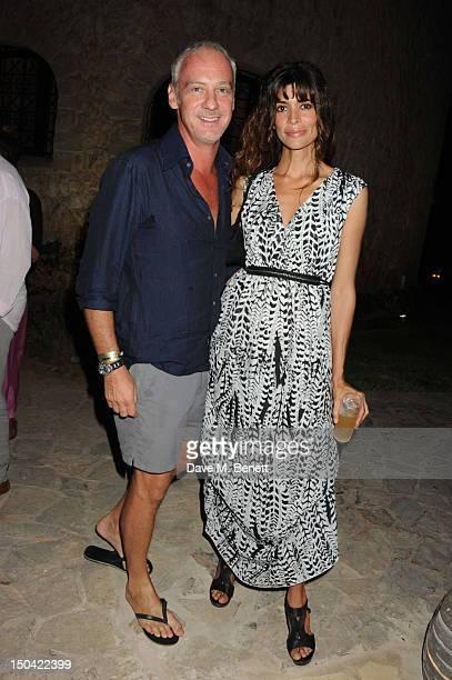 Anton Bilton and Lisa Barbuscia aka Lisa B attend the Ibiza Summer Party In Aid Of Teenage Cancer Trust and Asociacion Espanola Contra El Cancer at...