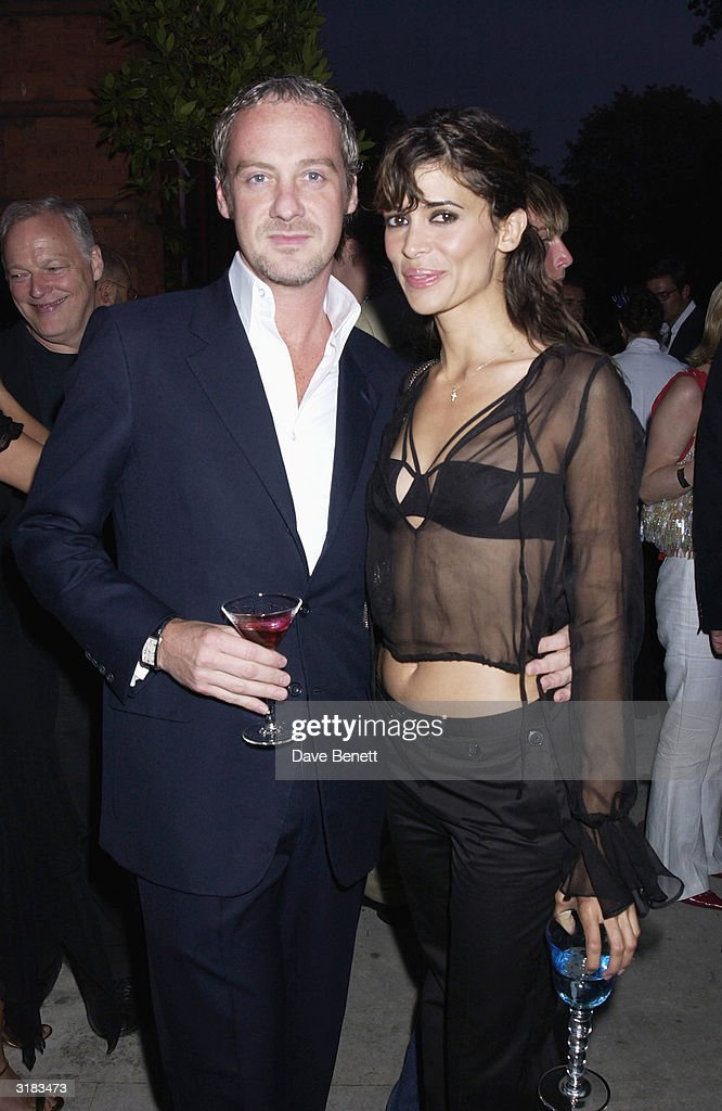 Anton Bilton (Tara Palmer-Tomkinson's ex) with Lisa B at a party thrown by 'Tatler Magazine' in conjunction with 'Cartier' on 17th July 2002 to celebrate the latest issue of '100 Most Invited People' at the 'Orangery' in Kensington Gardens, London.