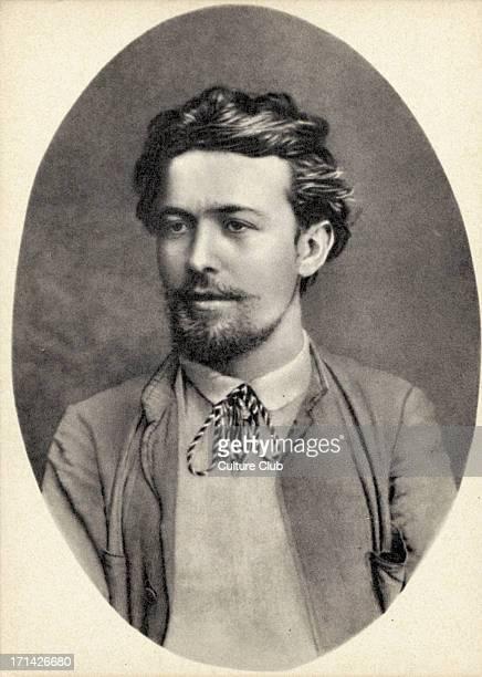 Anton Chekhov portrait 1888 at Feodossia in the Crimea Russian dramatist / playwright 17 January 1860 2 July 1904