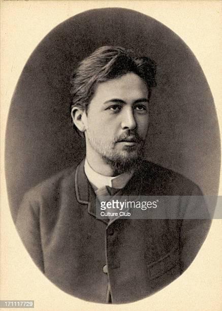 Anton Chekhov portrait 1889 Russian dramatist playwright 17 January 1860 2 July 1904