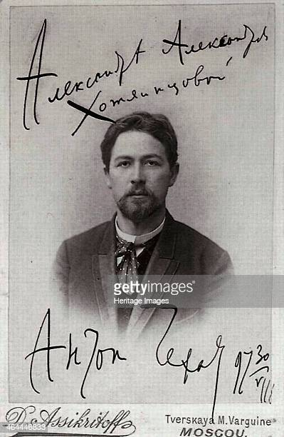Anton Chekhov Russian author 1899 Chekhov is regarded as one of Russia's finest playwrights and one of the greatest writers of short stories Found in...
