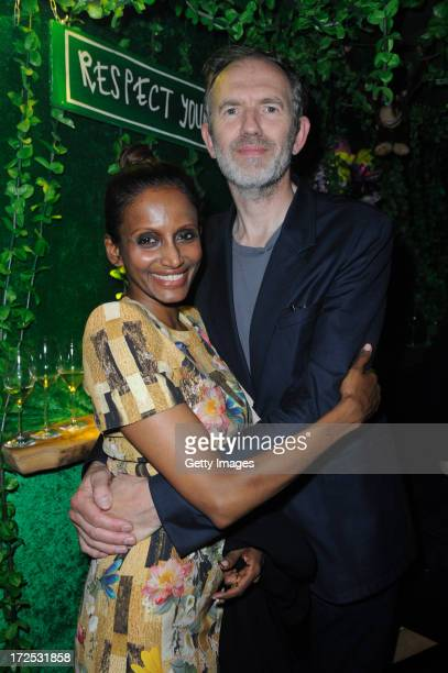 Anton Corbijn and Nimi Ponnadurai attend GStar presents Spring/Summer 2014 collection during Bread Butter on July 02 2013 in Berlin Germany